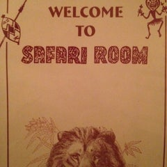 Photo taken at The Safari Room by Ariel T. on 7/31/2012