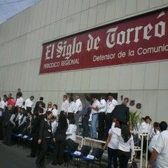 Photo taken at El Siglo de Torreón by Muñe A. on 8/28/2012
