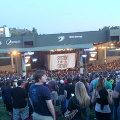 Photo taken at DTE Energy Music Theatre by Mike S. on 8/15/2012