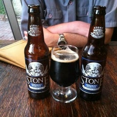 Photo taken at Stone Brewing World Bistro & Gardens by Josh S. on 7/7/2012