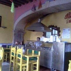 Photo taken at Gorditas Doña Julia by Bris A. on 4/10/2012