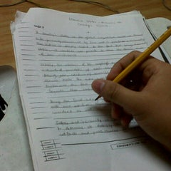 Photo taken at Niner 9.0 IELTS Review Center by Francis D. on 3/27/2012