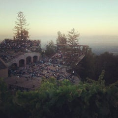 Photo taken at Mountain Winery by Caitlin K. on 8/23/2012
