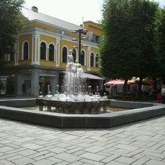 Photo taken at Laisvės alėja | Liberty Avenue | Аллея Свободы by Ivars K. on 7/14/2012