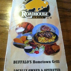Photo taken at Buffalo Roadhouse Grill by Count R. on 4/27/2012