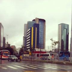 Photo taken at Estação Faria Lima (Metrô) by Patrício A. on 6/8/2012