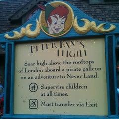 Photo taken at Peter Pan's Flight by D14BLO on 2/24/2012