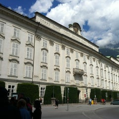 Photo taken at Hofburg Innsbruck by Kathrin B. on 7/31/2012