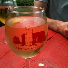 Photo taken at Hermes Vineyards by Jen B. on 8/17/2012