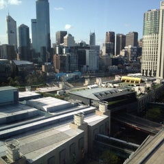 Photo taken at Crown Metropol Hotel by Clint D. on 9/6/2012