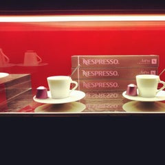 Photo taken at Nespresso Boutique by Around Milan! on 4/19/2012