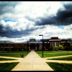 Photo taken at Miami University Rec Center by tim b. on 4/11/2012