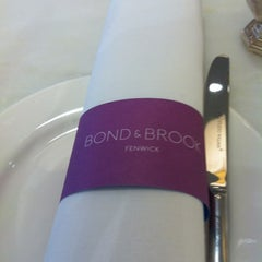 Photo taken at Bond & Brook by Danielle H. on 9/16/2011