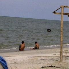 Photo taken at Pantai Gudang Garam by Lucy L. on 10/7/2011