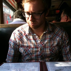 Photo taken at Rosebud Diner by Deb G. on 1/30/2011