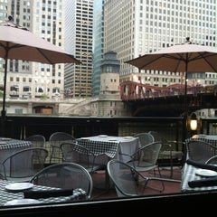 Photo taken at Fulton's on the River by Alexander G. on 4/18/2012