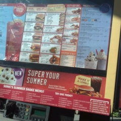 Photo taken at SONIC Drive In by Daniel S. on 5/8/2012