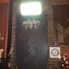 Photo taken at Motor City Bar by Kelly K. on 8/13/2012