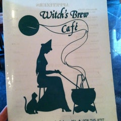 Photo taken at Witch's Brew Cafe by Bri R. on 7/18/2011