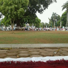 Photo taken at Alun - Alun Pemalang by Usman A. on 11/6/2011