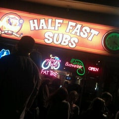 Photo taken at Half Fast Subs by Kyle E. on 9/24/2011