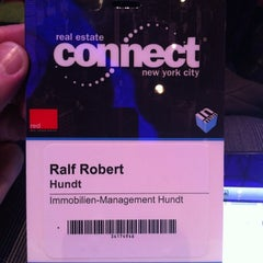 Photo taken at Real Estate Connect NYC 2012 by Ralf Robert H. on 1/12/2012