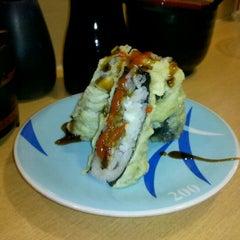 Photo taken at Marinepolis Sushi Land by Chris P. on 11/4/2011