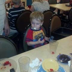 Photo taken at HomeTown Buffet by Joleen D. on 4/21/2012
