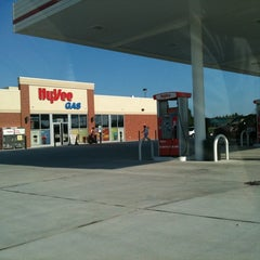 Photo taken at Hy-Vee Convenience & Gas by Chris F. on 8/3/2011