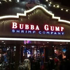 Photo taken at Bubba Gump Shrimp Co. by Nancy T. on 3/28/2012