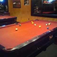 Photo taken at The Rack Sushi Bar & Billiards Lounge by Amanda W. on 5/4/2012