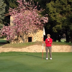 Photo taken at Golf Club Lugano by Learco B. on 3/25/2012