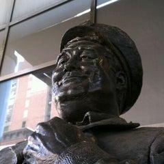 Photo taken at Ralph Kramden Statue by Rob on 5/31/2012