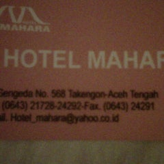 Photo taken at Hotel Mahara by Rinto N. on 6/26/2012