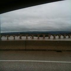 Photo taken at John Harris Bridge by Timothy Q. on 9/8/2011