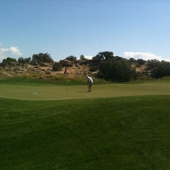Photo taken at Redlands Mesa Golf Course by Brent C. on 9/7/2011
