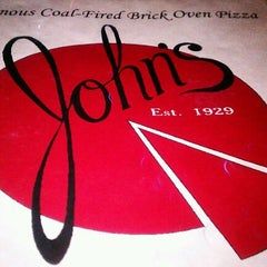 Photo taken at John's Pizzeria by Forest P. on 11/11/2011