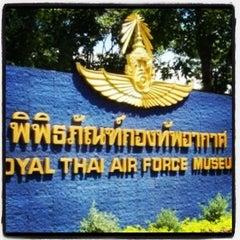 Photo taken at พิพิธภัณฑ์กองทัพอากาศ (Royal Thai Air Force Museum) by Phueng N. on 2/14/2012
