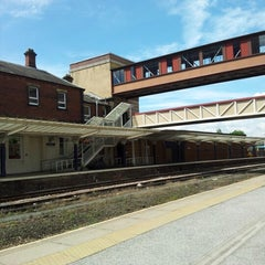 Photo taken at Harrogate Railway Station (HGT) by Alistair M. on 7/7/2012