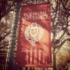 Photo taken at Fordham University - Rose Hill by Henry S. on 11/19/2011