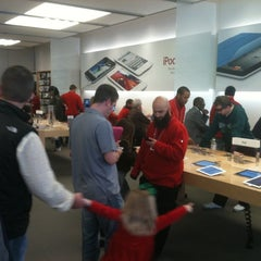 Photo taken at Apple Store, Suburban Square by David N. on 12/4/2011