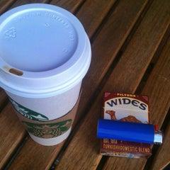 Photo taken at Starbucks by CulinarySchmooze on 10/24/2011