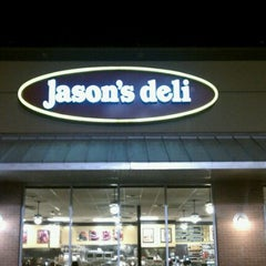 Photo taken at Jason's Deli by Robert E. on 11/1/2011
