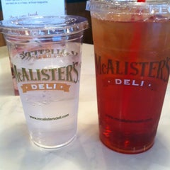 Photo taken at McAlisters Deli by Y M. on 1/20/2012