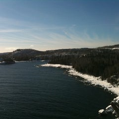 Photo taken at Split Rock Lighthouse by Kyle M. on 1/30/2011