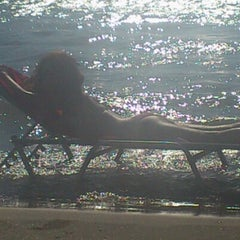 Photo taken at Παραλία Κινίου (Kini Beach) by Magda P. on 8/17/2012