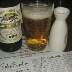 Photo taken at SakeBomber Sushi & Grill by Anthony L. on 9/17/2011