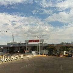 Photo taken at Puente Internacional Santa Fe (Paso Del Norte) by Mark R. on 7/5/2012