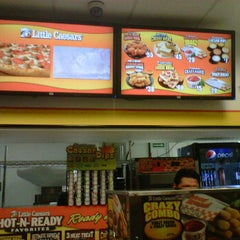 Photo taken at Little Caesar's Pizza by Diana B. on 12/13/2011