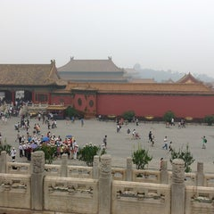 Photo taken at 故宫博物院 Forbidden City by Марк Р. on 8/18/2012